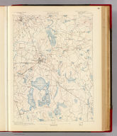 Massachusetts. Middleborough sheet. Preliminary edition subject to corrections. U.S. Geological Survey, J.W. Powell, Director. State of Massachusetts ... commissioners. Henry Gannett, Chief Geographer. Triangulation by the U.S. Coast and Geodetic and Borden surveys. Topography by Sumner H. Bodfish, topographer in charge, assisted by Laurence Thompson, Henry Lloyd Smyth, W.J. Grambs & R.H. Philips, assistants. Surveyed in 1885. Forbes Co., Boston & N.Y. (1890)