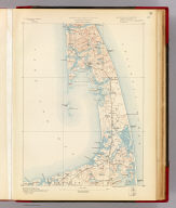 Massachusetts. Wellfleet sheet. Preliminary edition subject to corrections. U.S. Geological Survey, J.W. Powell, Director. State of Massachusetts ... commissioners. Henry Gannett, Chief Geographer. Marcus Baker, geographer in charge. Triangulation by the U.S. Coast and Geodetic Survey. Topography by the U.S. Coast and Geodetic Survey and by E.B. Clark. Surveyed in 1887. Forbes Co., Boston & N.Y. (1890)