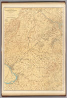 A topographical map of the vicinity of Trenton, New Brunswick and Bordentown. George H. Cook, State Geologist, C.C.Vermeule, topographer. 1887. Geological Survey of New Jersey. Atlas sheet no. 8, Trenton. Julius Bien & Co., Lith. (1888)