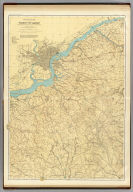 A topographical map of the vicinity of Camden to Burlington, Winslow, Elmer and Swedesboro. George H. Cook, State Geologist, C.C.Vermeule, topographer. 1887. Geological Survey of New Jersey. Atlas sheet no. 11, Camden. Julius Bien & Co., Lith. (1888)