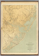 A topographical map of Egg Harbor and vicinity including the Atlantic shore from Barnegat to Great Egg Harbor. George H. Cook, State Geologist, John C. Smock, assistant geologist, C.C.Vermeule, topographer. 1885. Geological Survey of New Jersey. Atlas sheet no. 16, Egg Harbor. Julius Bien & Co., Lith. (1888)