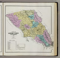 Map of Sonoma County, California. 1898. (Published by Reynolds & Proctor, Santa Rosa, Cal., 1898)