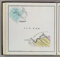 T. 11 N., R. 15 W. (with) Geyserville. (Published by Reynolds & Proctor, Santa Rosa, Cal., 1898)