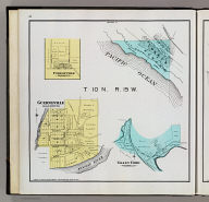 T 10 N., R. 15 W. (with) Forestville. (with) Guerneville. (with) Valley Ford. (Published by Reynolds & Proctor, Santa Rosa, Cal., 1898)