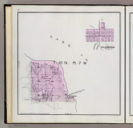 T. 10 N., R. 7 W. (with) Occidental. (Published by Reynolds & Proctor, Santa Rosa, Cal., 1898)
