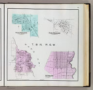 T. 8 N., R. 6 W. (with) West Windsor. (with) East Windsor. (with) El Verano. (Published by Reynolds & Proctor, Santa Rosa, Cal., 1898)
