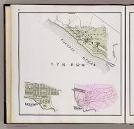 T. 7 N., R. 12 W. (with) Kenwood. (with) Rincon Heights. (Published by Reynolds & Proctor, Santa Rosa, Cal., 1898)