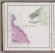 T. 6 N., R. 5 W. (with) Agua Caliente. (Published by Reynolds & Proctor, Santa Rosa, Cal., 1898)