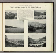 The scenic route of California. Scenes on line of North Pacific Coast Railway. (Published by Reynolds & Proctor, Santa Rosa, Cal., 1898)