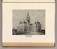 State Capitol, Hartford, Conn. View from the south-east. (D.H. Hurd & Co., Boston. 1893)