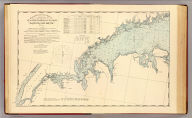 New York to Norwalk Islands, Long Island Sound. United States Coast Survey. (D.H. Hurd & Co., Boston. 1893)