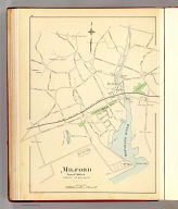 Milford, town of Milford, county of New Haven. (Copyright 1893 by D.H. Hurd & Co.)