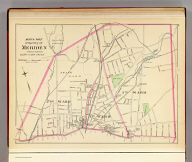 North part of the city of Meriden, town of Meriden, county of New Haven. (Copyright 1893 by D.H. Hurd & Co.)