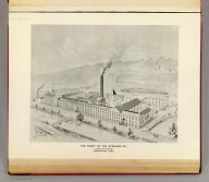 The plant of the Sterling Co., pianos and organs, Birmingham, Conn. (Drawn by) H. Billings '93. (Copyright by D.H. Hurd & Co., Boston).