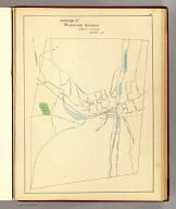Borough of Stafford Springs, town of Stafford, Tolland Co. (Copyright 1893 by D.H. Hurd & Co.)
