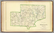 North part of Windham Co., Connecticut. (Copyright 1893 by D.H. Hurd & Co.)