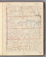 Rhode Island sheet no. 5. U.S. Geological Survey, J.W. Powell, Director. State of Rhode Island ... commissioners. Surveyed in 1888. Geo. H. Walker & Co., Boston & N.Y., edition of 1891. For sale by J.C. Thompson, Providence, R.I.