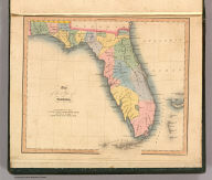 Map of the state of Florida. London, published April 1, 1832 by I.T. Hinton & Simpkin & Marshall. Engraved & printed by Fenner Sears & Co. (1832)