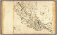 (A new map of Mexico and adjacent provinces compiled from original documents by A. Arrowsmith, 1810. Sheet 2). (with) Veracruz. (with) Acapulco. London, Published 5th October 1810 by A. Arrowsmith, 10 Soho Square. (Engraved by E. Jones)