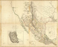 (Composite of) A new map of Mexico and adjacent provinces compiled from original documents by A. Arrowsmith, 1810. (with) Valley of Mexico, from Mr. Humboldt's map. (with) Veracruz. (with) Acapulco. London, Published 5th October 1810 by A. Arrowsmith, 10 Soho Square, Hydrographer to H.R.H. the Prince of Wales. Engraved by E. Jones.