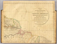 Outlines of the physical and political divisions of South America: (Sheet 1) delineated by A. Arrowsmith, partly from scarce and original documents, published before the year 1806 but principally from manuscript maps & surveys made between the years 1771 and 1806, corrected from accurate astronomical observations to 1810. London, Published 4th January 1811 by A. Arrowsmith, No. 10 Soho Square, Hydrographer to H.R. H. the Prince of Wales. Additions to 1814, 1817. Engraved by Edwd. Jones.