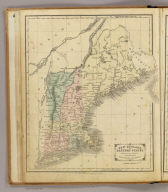 New England or Eastern States. Designed to accompany Cornell's High school geography. Entered ... 1855, by S.S. Cornell ... Southern District of New York. New York: D. Appleton & Co., 443 & 445 Broadway. (1864)