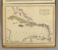 West Indies. Designed to accompany Cornell's High school geography. Entered ... 1855, by S.S. Cornell ... Southern District of New York. New York: D. Appleton & Co., 443 & 445 Broadway. (1864)