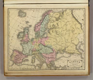 Europe. Designed to accompany Cornell's High school geography. Entered ... 1855, by S.S. Cornell ... Southern District of New York. New York: D. Appleton & Co., 443 & 445 Broadway. (1864)