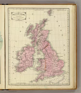 British Isles. Designed to accompany Cornell's High school geography. Entered ... 1855, by S.S. Cornell ... Southern District of New York. New York: D. Appleton & Co., 443 & 445 Broadway. (1864)