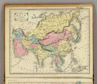 Asia. Designed to accompany Cornell's High school geography. Entered ... 1855, by S.S. Cornell ... Southern District of New York. New York: D. Appleton & Co., 443 & 445 Broadway. (1864)