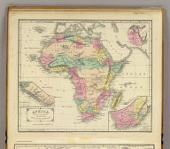 Africa. Designed to accompany Cornell's High school geography. (with) Map of Isthmus of Suez. (with) Liberia. (with) Southern part of Africa. Entered ... 1855, by S.S. Cornell ... Southern District of New York. New York: D. Appleton & Co., 443 & 445 Broadway. (1864)