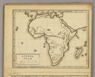 Africa. Drawn by (to be filled in. By George W. Fitch. New York: Sheldon, Blakeman and Company, 115 Nassau Street. Entered ... 1850, by Huntington and Savage ... New York)