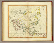 A map of Asia according to the method of the Abbe Gaultier. By Mr. Wauthier, his pupil, 1799.