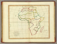 A plain map of Africa, according to the method of the Abbe Gaultier by Mr. Wauthier, his pupil. 1802.