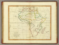 A new map of Africa, according to the method of the Abbe Gaultier. By Mr. Wauthier, his pupil. 1799.