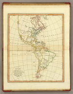A new map of America. According to the method of the Abbe Gaultier. By Mr. Wauthier, his pupil. 1799.