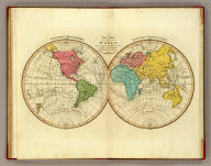 A new map of the World, according to the method of the Abbe Gaultier. By Mr. Wauthier, his pupil. 1799.