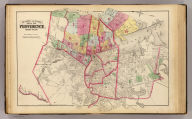 Outline and index map of Providence, Rhode-Island. Entered according to act of Congress in the year 1875 by G.M. Hopkins, in the office of the Librarian of Congress at Washington, D.C.
