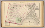 Part of ward 1, city of Providence. Vol. 1, plate A. Entered according to act of Congress in the year 1875 by G.M. Hopkins, in the office of the Librarian of Congress at Washington, D.C.