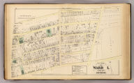 Part of ward 1, city of Providence. Vol. 1, plate F. Entered according to act of Congress in the year 1875 by G.M. Hopkins, in the office of the Librarian of Congress at Washington, D.C.