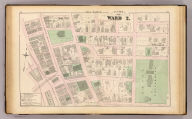 Part of ward 2, (city of Providence). Vol. 1, plate N. Entered according to act of Congress in the year 1875 by G.M. Hopkins, in the office of the Librarian of Congress at Washington, D.C.