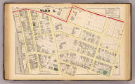 Part of ward 3, (city of Providence). Vol. 1, plate P. Entered according to act of Congress in the year 1875 by G.M. Hopkins, in the office of the Librarian of Congress at Washington, D.C.