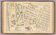 Part of ward 3, city of Providence. Vol. 1, plate Q. Entered according to act of Congress in the year 1875 by G.M. Hopkins, in the office of the Librarian of Congress at Washington, D.C.