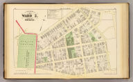 Part of ward 5, city of Providence. Vol. 2, plate D. Entered according to act of Congress in the year 1875 by G.M. Hopkins, in the office of the Librarian of Congress at Washington, D.C.