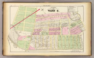 Part of ward 9, (city of Providence). Vol. 2, plate N. Entered according to act of Congress in the year 1875 by G.M. Hopkins, in the office of the Librarian of Congress at Washington, D.C.