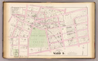Part of ward 9, (city of Providence). Vol. 2, plate P. Entered according to act of Congress in the year 1875 by G.M. Hopkins, in the office of the Librarian of Congress at Washington, D.C.