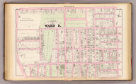 Part of ward 9, (city of Providence). Vol. 2, plate R. Entered according to act of Congress in the year 1875 by G.M. Hopkins, in the office of the Librarian of Congress at Washington, D.C.
