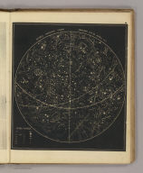 Visible heavens from January 21st to April 17th. (By Asa Smith. New York: Cady & Burgess, 60 John Street. 1850)