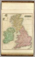 British Isles. Drawn & engraved by Hewitt, Broad Str., Bloomsby. Drawn & engraved for Thomson's New general atlas, May 1st, 1815.