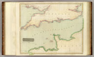 The British Channel. J. & G. Menzies sculpt., Edinr. Drawn & engraved for Thomson's New general atlas, 16th Sept. 1814.